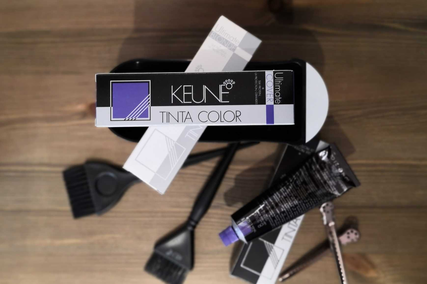 Keune Colour Box and Brushes
